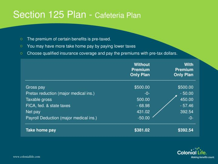 Section 125 Plan -