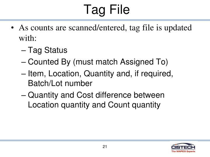 Tag File
