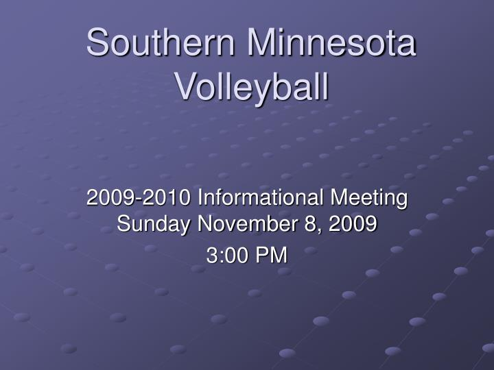 southern minnesota volleyball n.