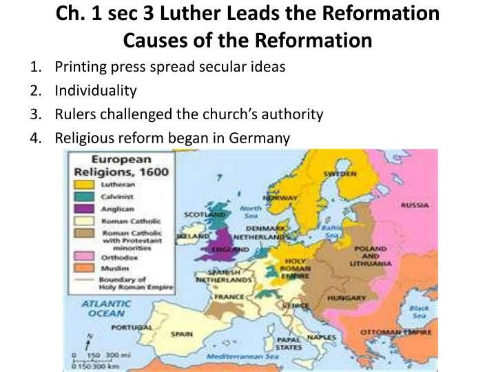 the causes of the reformation in europe Reformation fever was also catching throughout europe, and soon norway, denmark, sweden, switzerland and england were all following germany's example of breaking from the catholic church and establishing state-run, protestant ecclesial communities i like to think of the story with the little.
