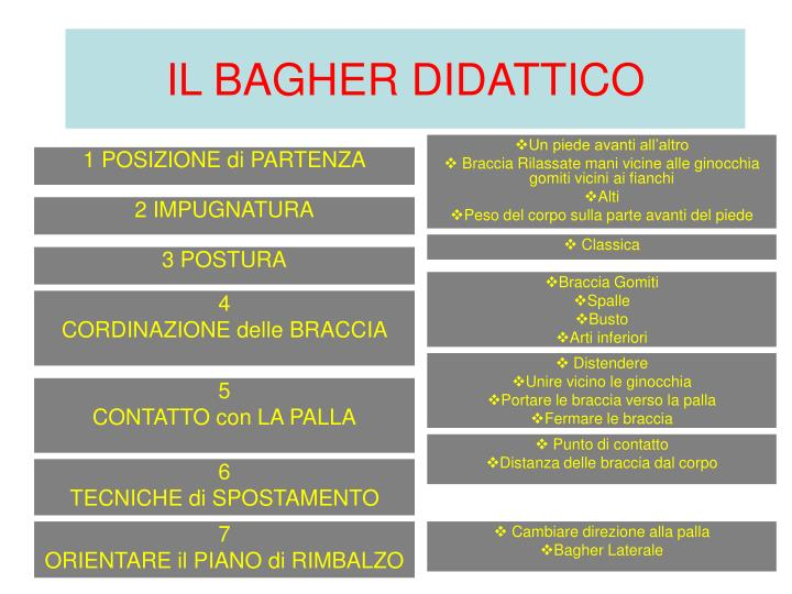 IL BAGHER DIDATTICO