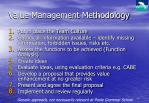 value management methodology