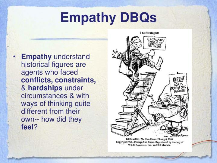Empathy DBQs