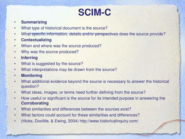 SCIM-C
