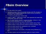 fbsim overview