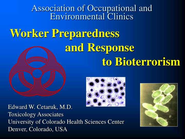 association of occupational and environmental clinics n.