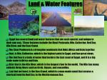 land water features