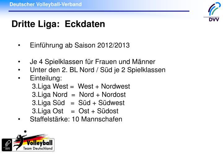 Einführung ab Saison 2012/2013