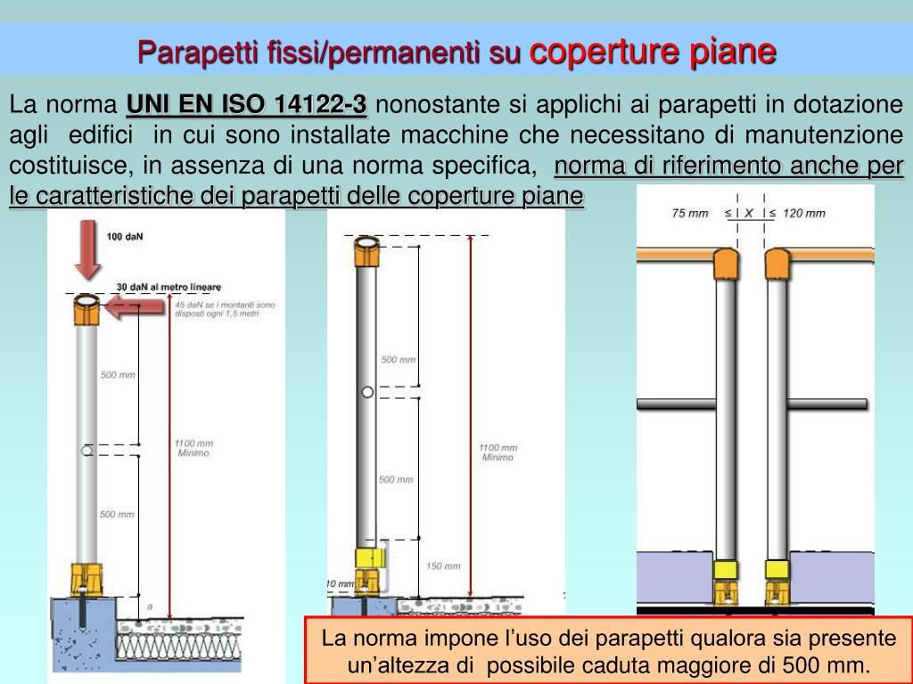 Altezza Dei Parapetti ppt - lavorare sulle coperture parapetti provvisori e reti