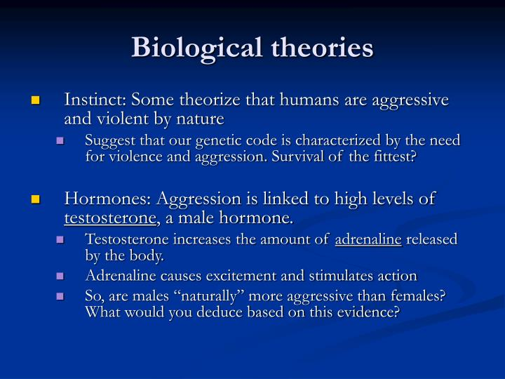 early biological theories Biological psychology articles, research evaluations and outlines did you know the idea that we only use 10% of our brains is a myth: it originated from either an advertisement or misleading interpretation of neurological research in the late 19th or early 20th century.