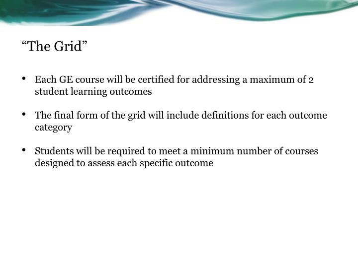 """""""The Grid"""""""