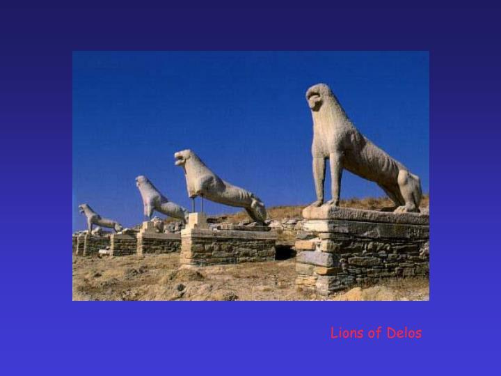Lions of Delos