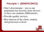 principle 1 beneficence1