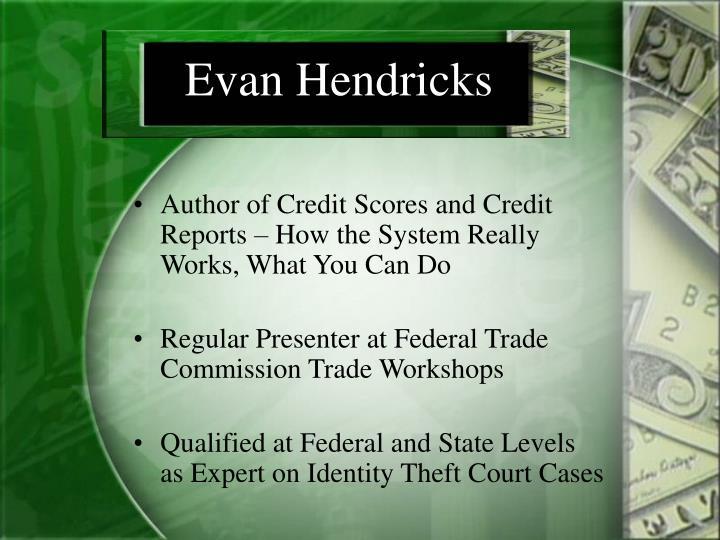 Evan hendricks