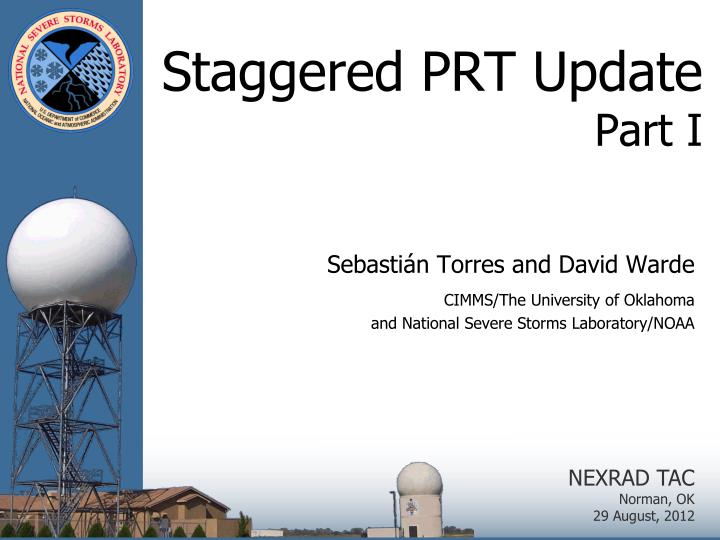 staggered prt update part i n.