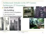 architectural attitudes in the 20 th century architecture 2 nd generation4