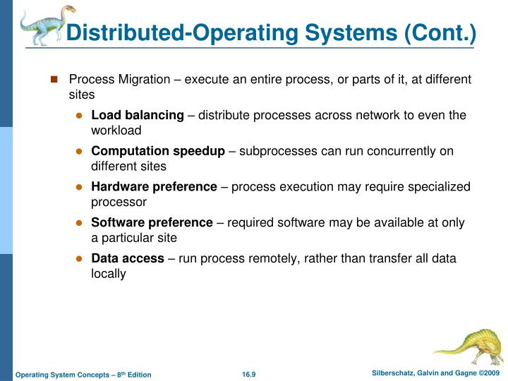 Distributed-Operating Systems (Cont.)