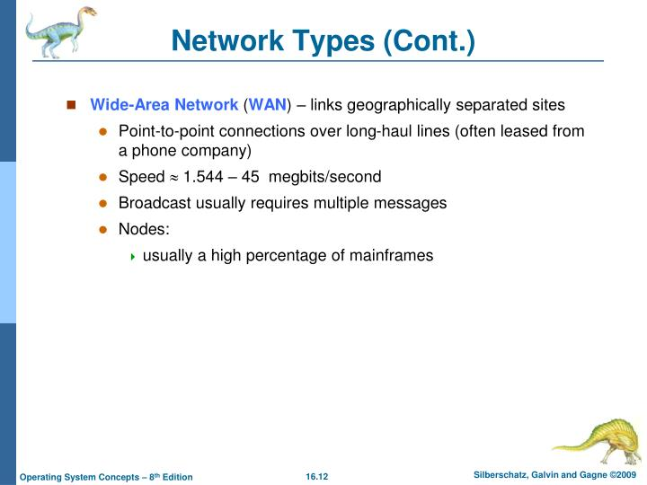 Network Types (Cont.)