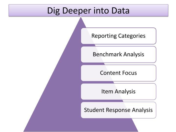 Dig Deeper into Data
