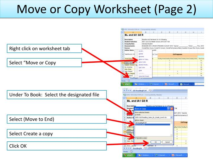 Move or Copy Worksheet (Page 2)