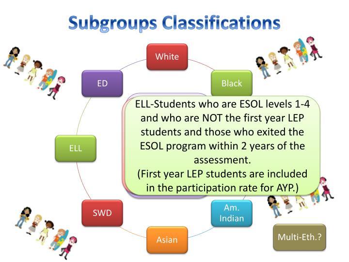 Subgroups Classifications