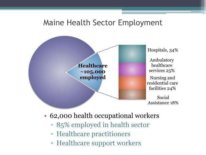 Maine Health Sector Employment