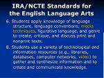 ira ncte standards for the english language arts