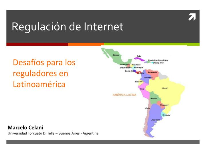 Regulación de Internet