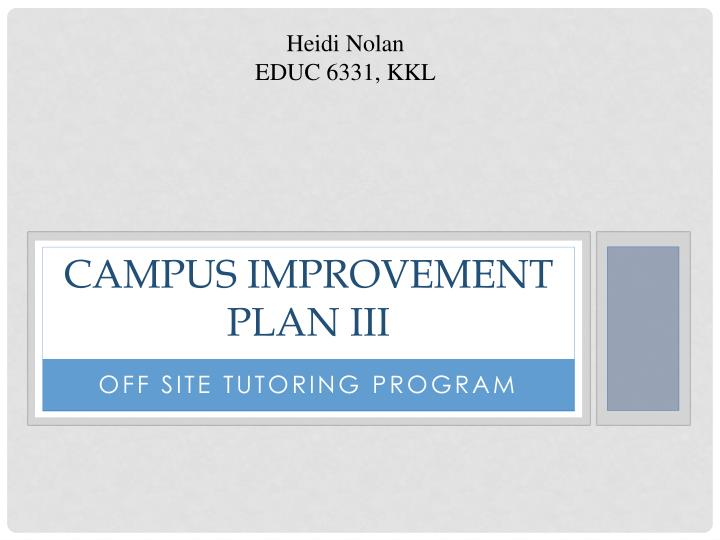campus improvement plan 1 florence middle school campus improvement plan 2016-2017 campus goals and performance objectives approved by the fisd board on november 14, 2016.