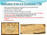 ratification of the u s constitution 1788