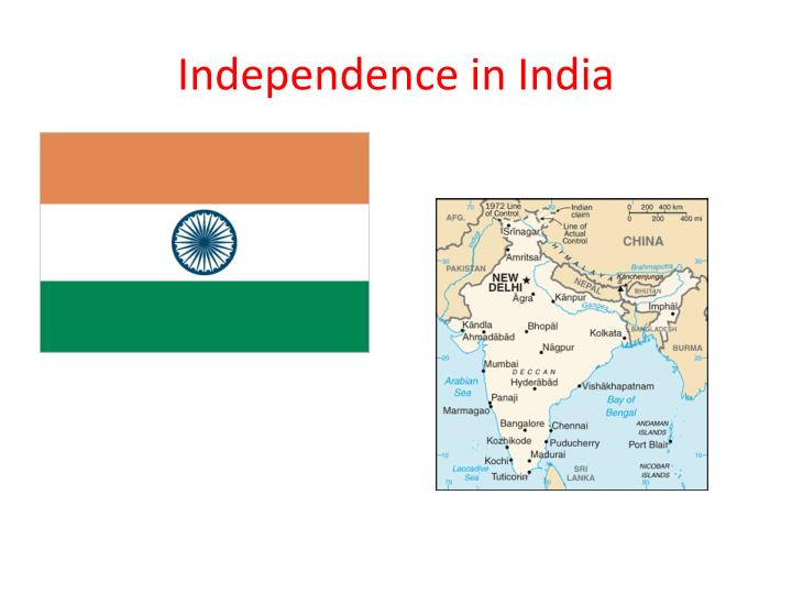 independence in india n.