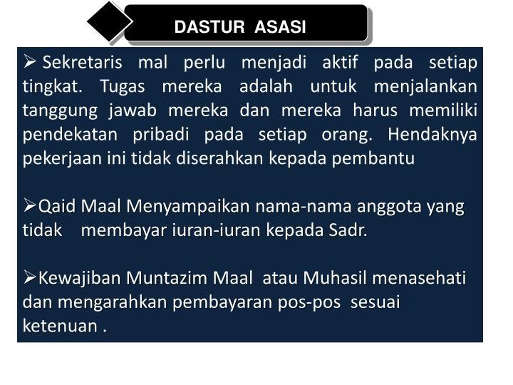 DASTUR  ASASI