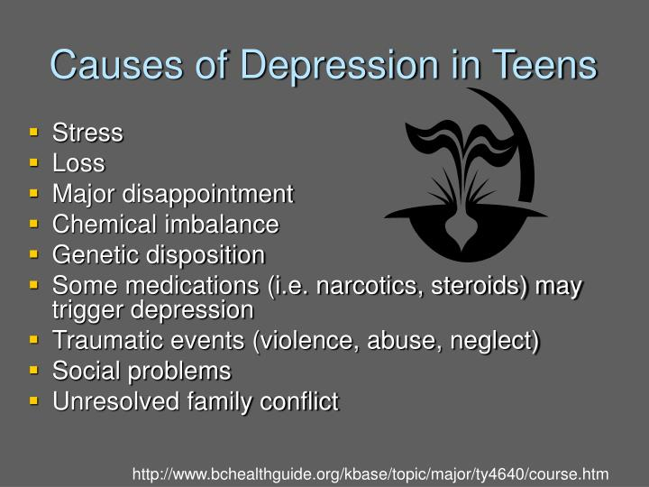 Causes of Depression in Teens