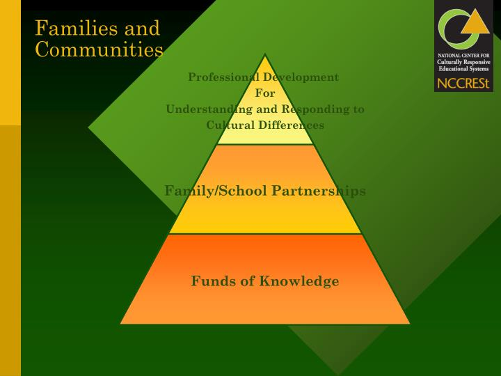 Families and Communities