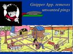 gnipper app removes unwanted pings