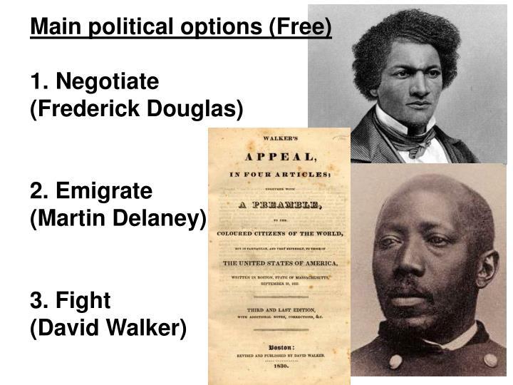 Main political options (Free)