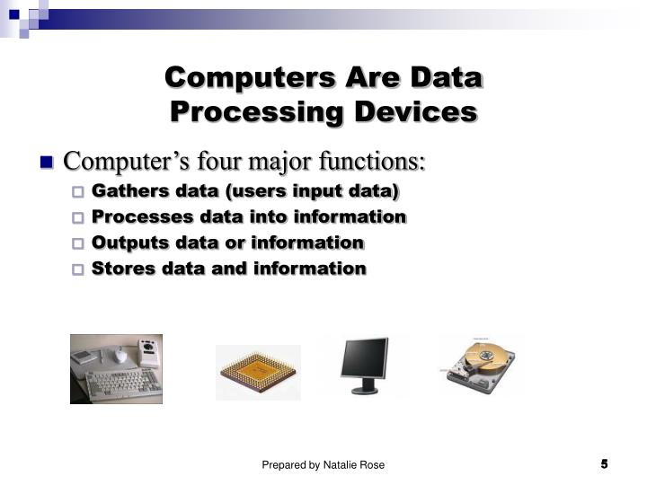 Computers Are Data
