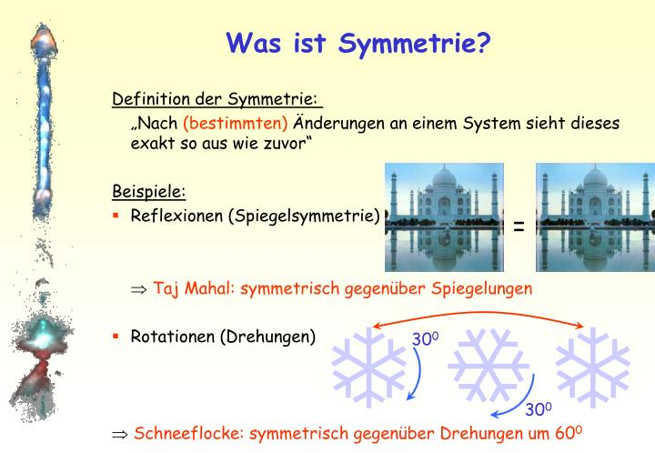 Was ist symmetrie