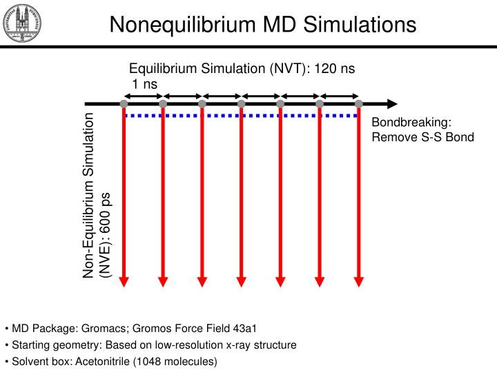 Nonequilibrium MD Simulations