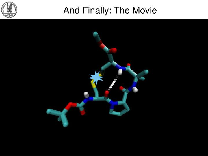 And Finally: The Movie