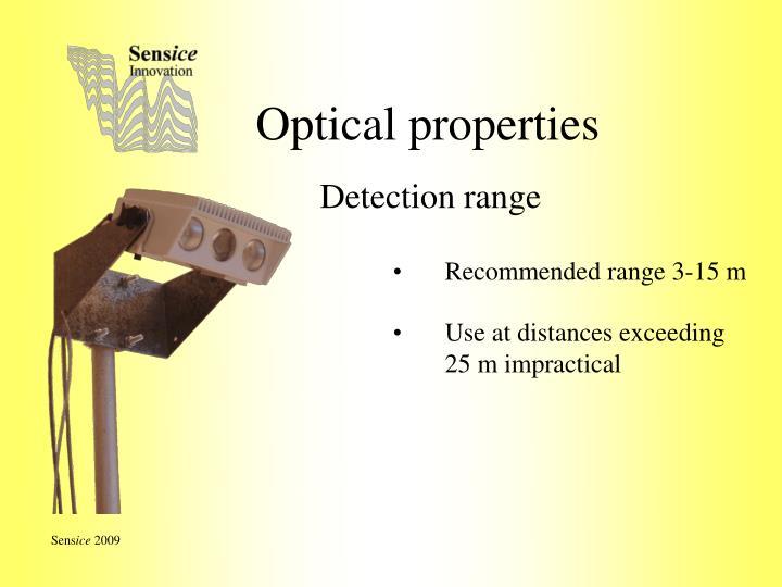 Optical properties