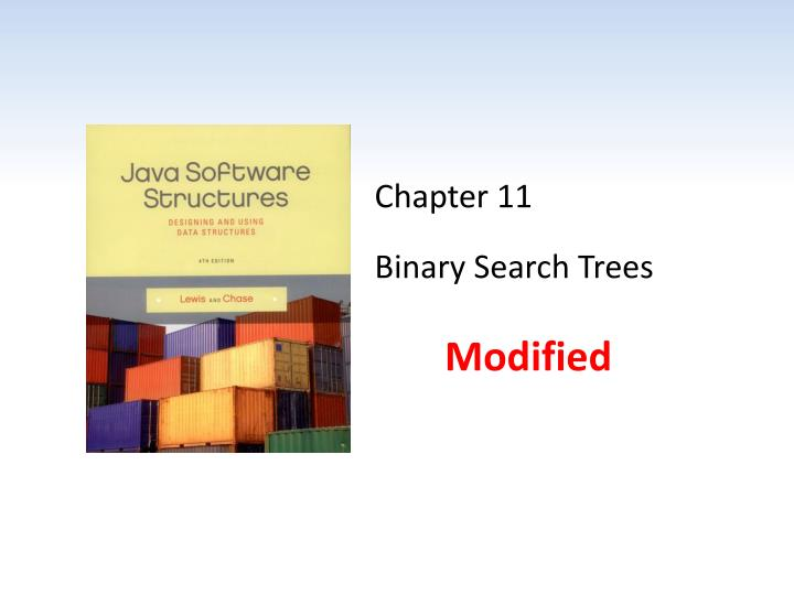 chapter 11 binary search trees n.