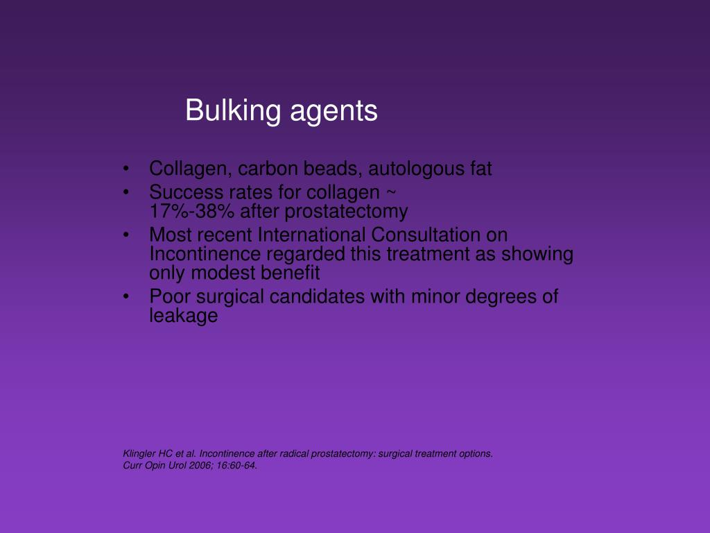 Ppt Incontinence And Prostate Cancer Powerpoint