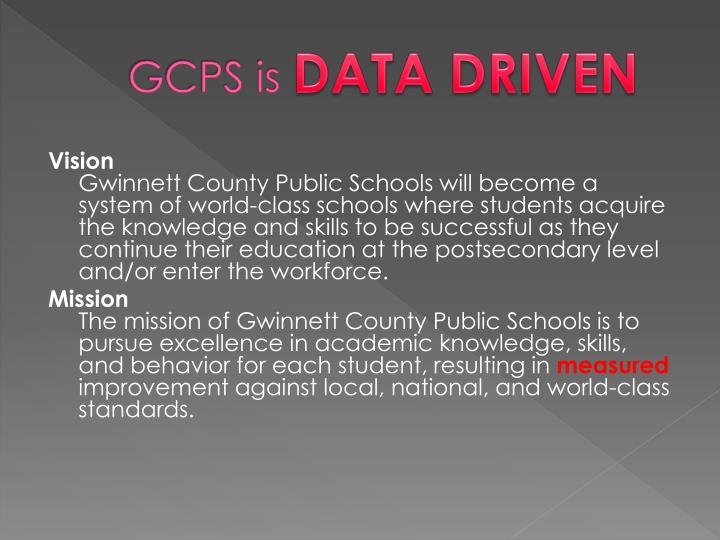 GCPS is