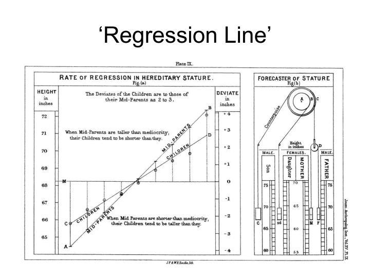 'Regression Line'