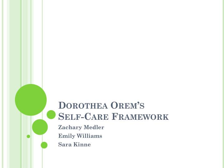 dorothea orem essay Anti essays offers essay examples to help students with their essay writing our collection includes thousands of sample research papers so you can find almost any essay you want dorothea orem nursing theory essays and research papers.