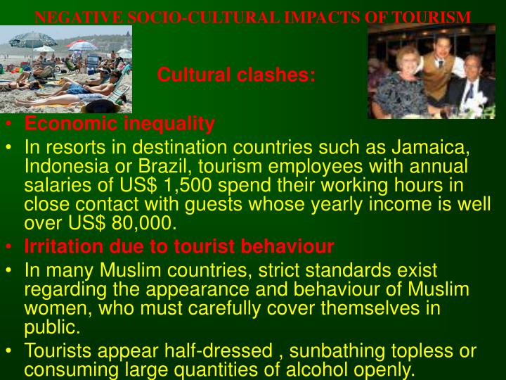socio cultural impacts of tourism pdf
