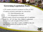 governing legislation facts