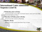 international cadet admissions sequence cont d3