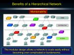 benefits of a hierarchical network6